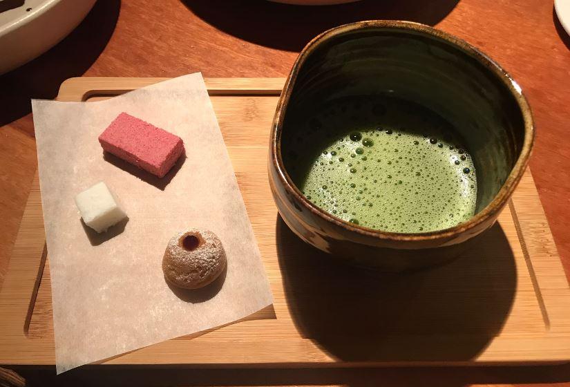 15. té matcha_ Koy Shunka- Mejor restaurante japonés Barcelona Gotic