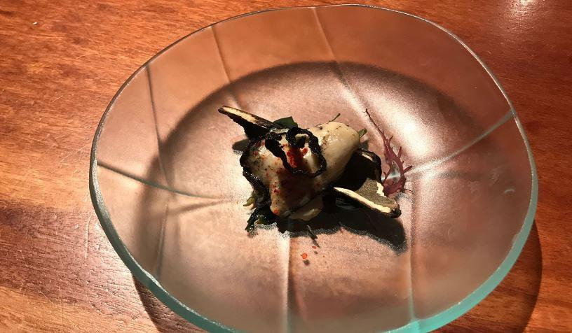 5.oreja de mar - koy Shunka- Mejor restaurante japonés Barcelona Gotic