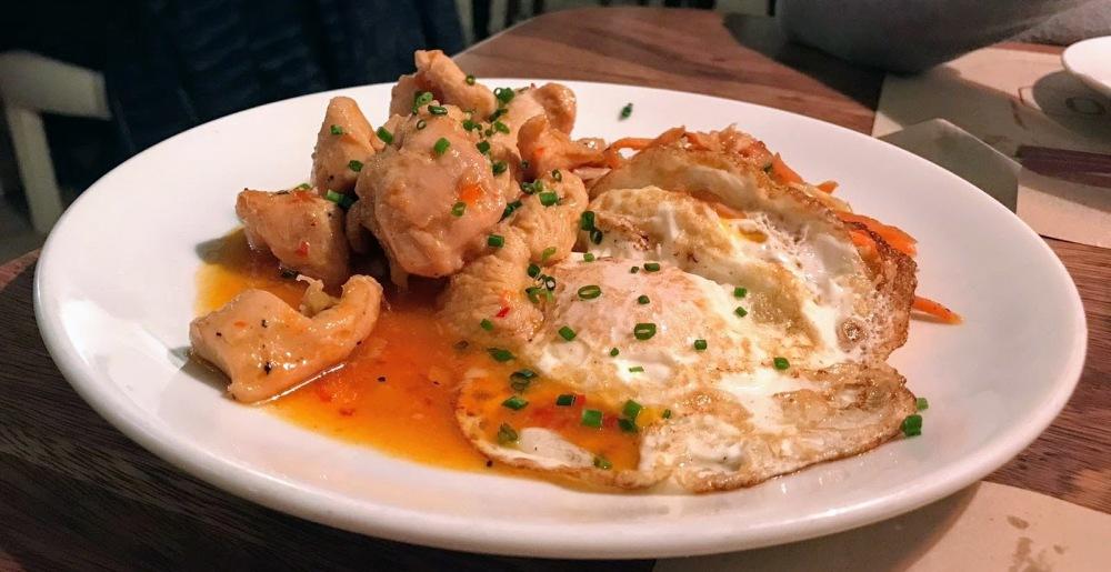 Salero- restaurante El Born- pavo con tamarindo