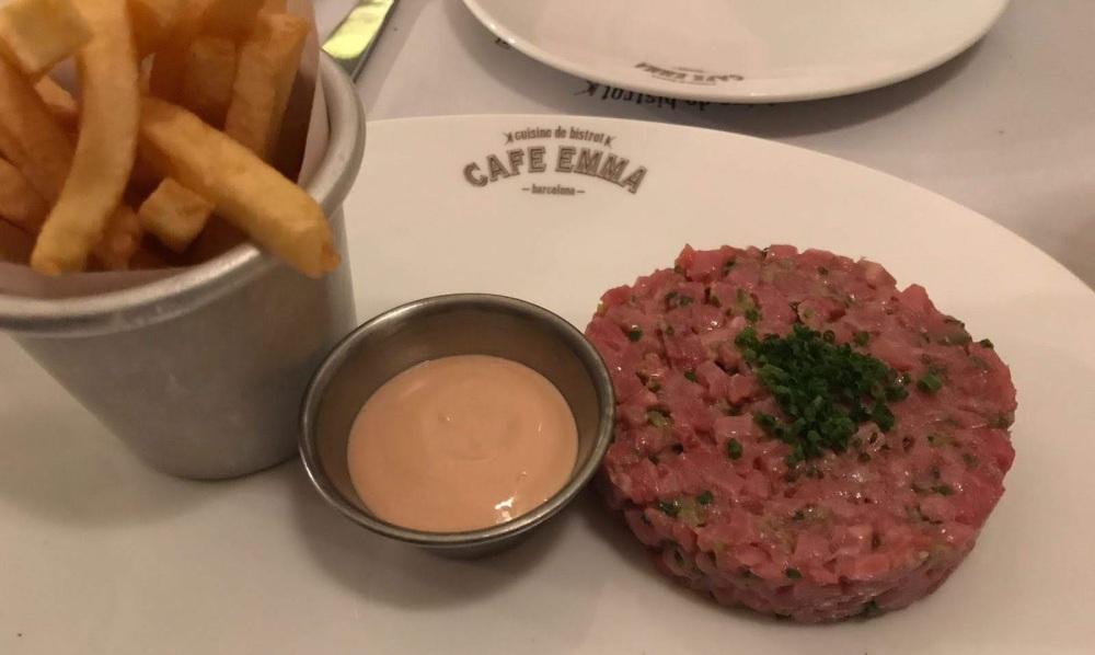 Cafe Emma - Bistro francés en Barcelona - pau Claris
