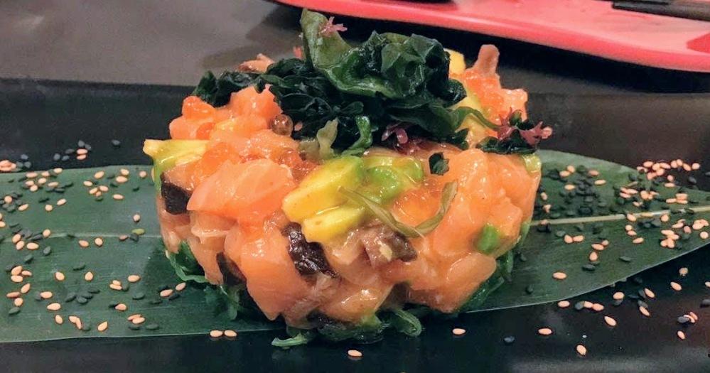 Kynoto Sushi Bar Restaurante Japonés romántico Gòtic - tartar