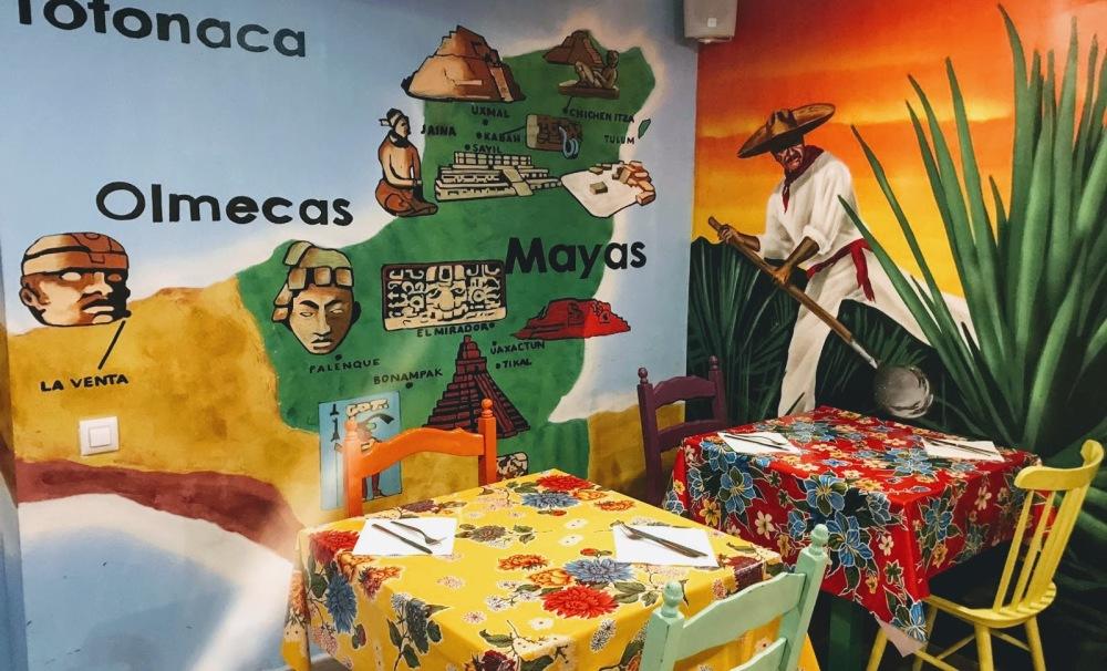 La Hacienda- Taquería mexiana Barcelona Indigenas