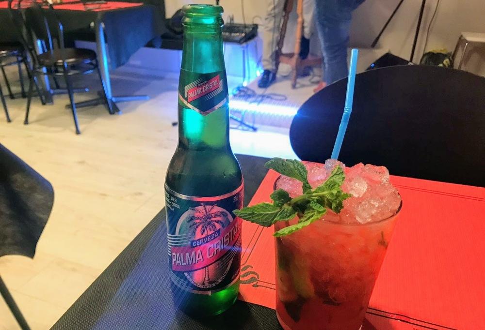 Rincón Cubano- Barcelona-Gracia-mojito y cerveza cubana