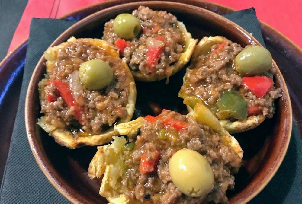 Rincón Cubano- Barcelona-Gracia-tostones rellenos