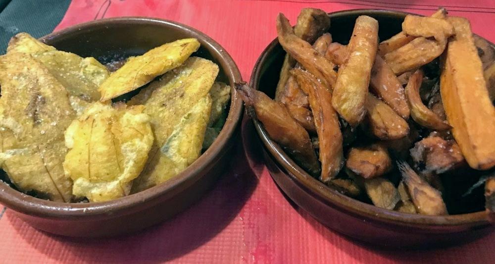 Rincón Cubano- Barcelona-Gracia-Tostones y Boniato frito