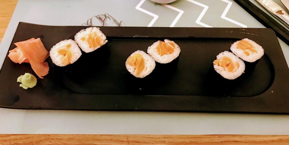 Fetén Castelldefels Sushi Bistró makis salmón