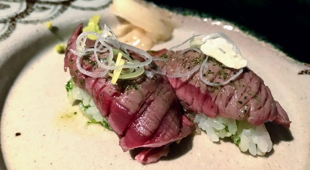 Sushi 99 - japones - barcelona -sarrià - nigiris de carne