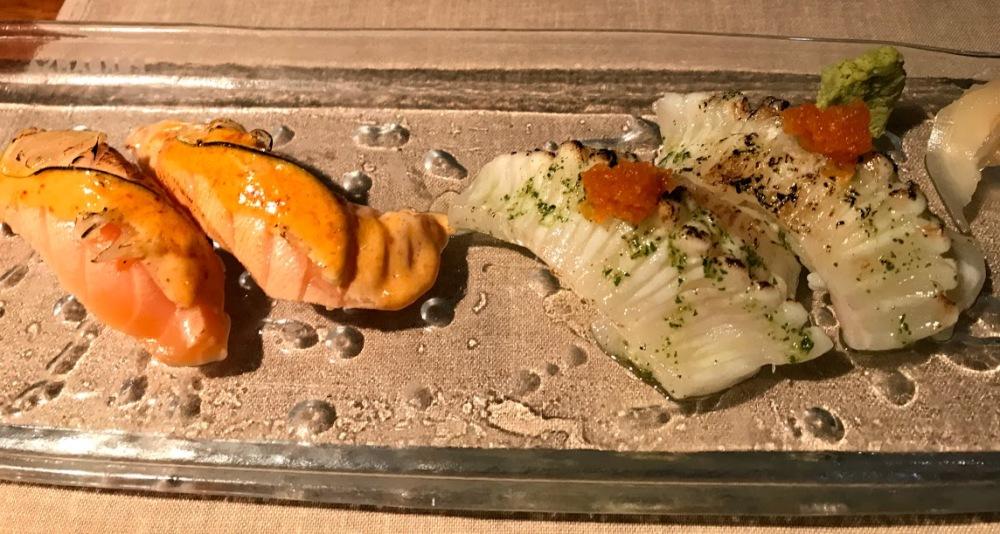 Sushi 99 - japones - barcelona -sarrià - nigiris flambeados