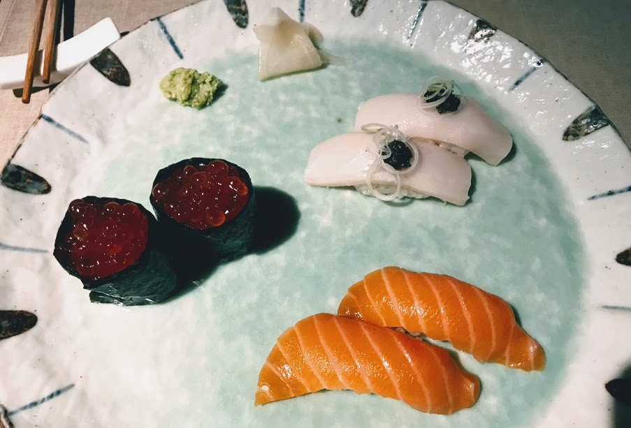 Sushi 99 - japones - barcelona -sarrià - nigiris fríos