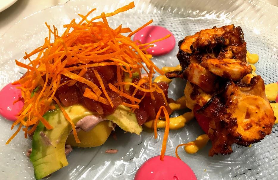 La Picantería de L'Escribà-restaurante peruano Poblenou-dúo de causas