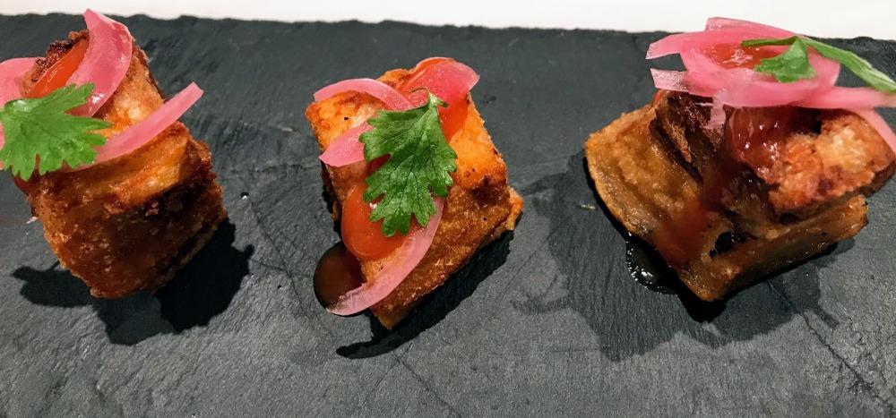 La Picantería de L'Escribà-restaurante peruano Poblenou-torrezno brasileño